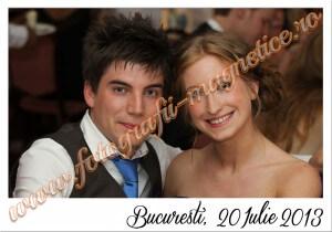 Fotografii magnetice marturii nunta magneti
