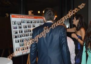 Fotografii magnetice nunta instant
