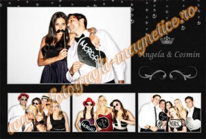 Fotografii magnetice nunti pret