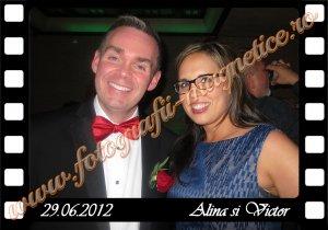 Fotografii magnetice nunta personalizate